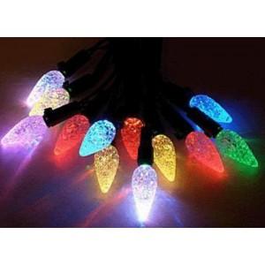 """Гирлянда светодиодная """"Неоновые Шишки""""  (крупные), d=2.5см, 1 диод-3 цвета, длина 10м., соединяются. Артикул Г5592"""