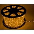 Дюралайт ламповый, цвет желтый, чейзинг, d=13мм. Артикул Г51356
