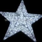 Звезда объемная 3D, 100 светодиодов, размер 60*60*30см, цвет-синий. Артикул Г9582