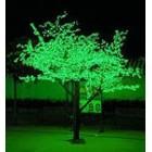арт.Г9213 Светодиодное дерево-вишня, высота 1.9м, ширина 1.5м, цвет-зеленый