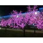 арт.Г9214 Светодиодное дерево-вишня, высота 1.9м, ширина 1.5м, цвет-фиолетовый