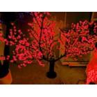 арт.Г9210 Светодиодное дерево-вишня, высота 1.9м, ширина 1.5м, цвет-красный