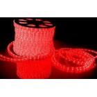 Дюралайт ламповый, цвет красный, чейзинг, d=13мм. Артикул Г51355