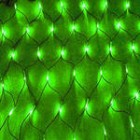 арт.Г9454 Светодиодная сетка, размер 2.0*1.5м, цвет- зеленый.