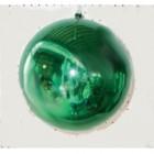 арт.Н0364 Шар глянцевый, d=20см, цвет - зеленый