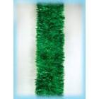 арт.Н100 Мишура 8-ми слойная, диаметр 100мм, цвет зеленый, длина 2.0м