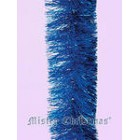 арт.Н100 Мишура 8-ми слойная, диаметр 100мм, цвет синий, длина 2.0м